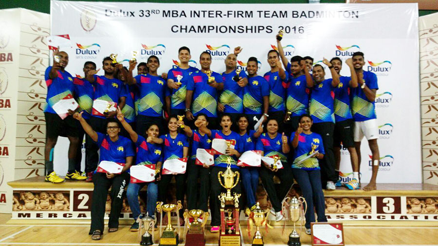 MBA Inter-Firm Team Badminton Championships